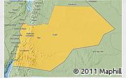 Savanna Style 3D Map of Ma-an