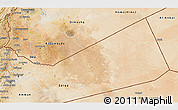 Satellite 3D Map of Mafraq