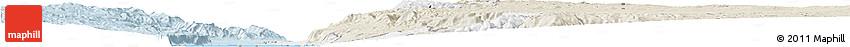 Classic Style Horizon Map of Salt (Balqa)