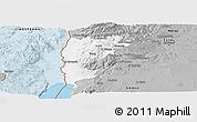 Gray Panoramic Map of Salt (Balqa)