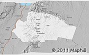 Gray 3D Map of Tafila