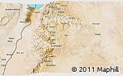 Satellite 3D Map of Tafila
