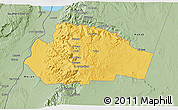 Savanna Style 3D Map of Tafila