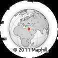 Outline Map of Tafila