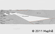Gray Panoramic Map of Zarqa