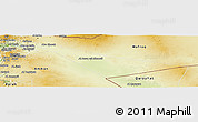 Physical Panoramic Map of Zarqa