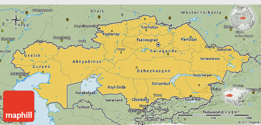 Kazakhstan overview, facts and features (General facts)