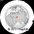 Outline Map of Aktyubinsk
