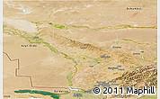 Satellite Panoramic Map of Chimkent