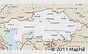 Classic Style Map of Kazakhstan