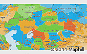 Political Map of Kazakhstan