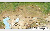 Satellite Map of Kazakhstan
