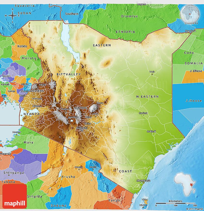 kenya physical map Quotes