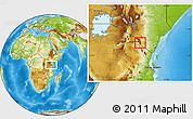 Physical Location Map of TAVETA