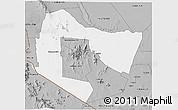 Gray 3D Map of TSAVO E&W N. PARK