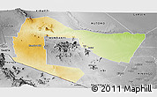 Physical Panoramic Map of TSAVO E&W N. PARK, desaturated