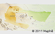 Physical Panoramic Map of TSAVO E&W N. PARK, lighten