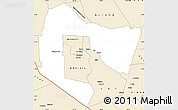 Classic Style Simple Map of TSAVO E&W N. PARK