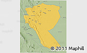 Savanna Style 3D Map of MUTOMO