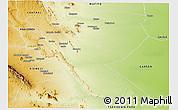 Physical Panoramic Map of MUTOMO