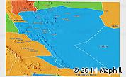 Political Panoramic Map of MUTOMO