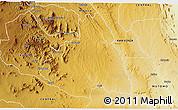 Physical 3D Map of MAKUENI