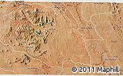 Satellite 3D Map of MAKUENI