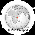 Outline Map of MAKUENI