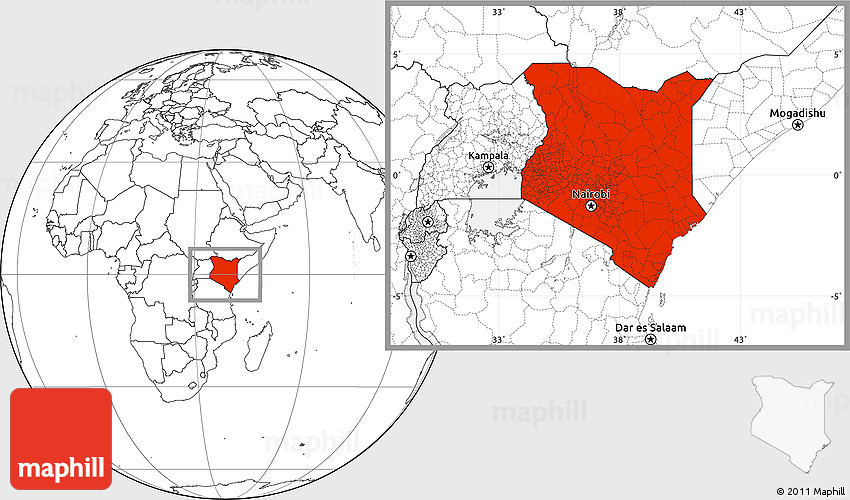 Blank location map of kenya 2d gumiabroncs Image collections