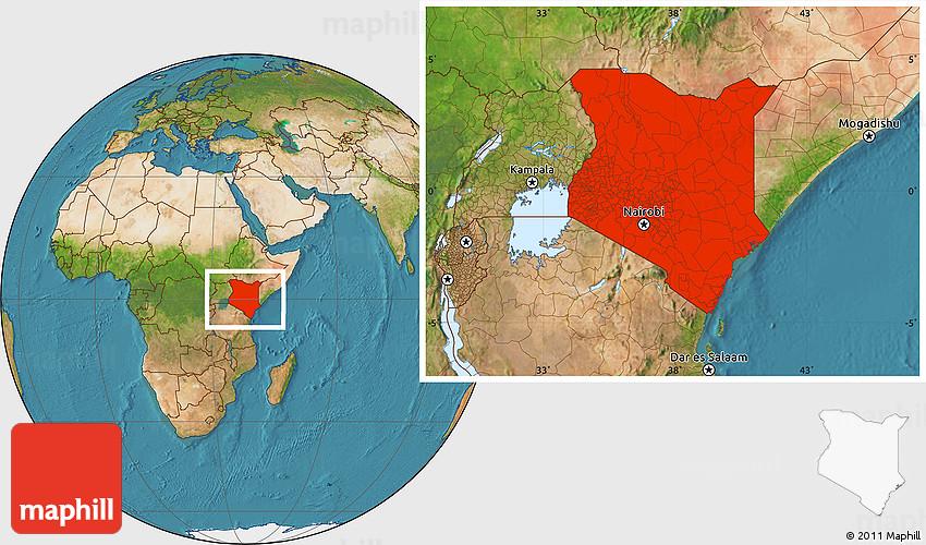 Satellite location map of kenya gumiabroncs Gallery