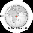 Outline Map of NAIROBI