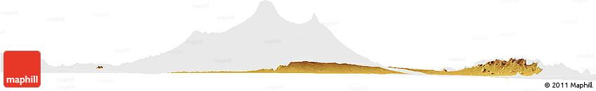 Physical Horizon Map of LOITOKITOK, single color outside