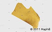Physical Map of LOITOKITOK, single color outside
