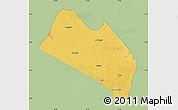 Savanna Style Map of LOITOKITOK, single color outside