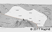 Gray Panoramic Map of LOITOKITOK