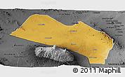 Physical Panoramic Map of LOITOKITOK, darken, desaturated