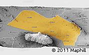 Physical Panoramic Map of LOITOKITOK, desaturated