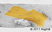 Physical Panoramic Map of LOITOKITOK, lighten, desaturated