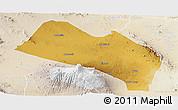 Physical Panoramic Map of LOITOKITOK, lighten
