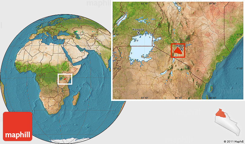Satellite location map of ngong gumiabroncs Image collections