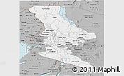 Gray Panoramic Map of RIFT VALLEY