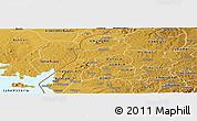 Physical Panoramic Map of NAMBALE