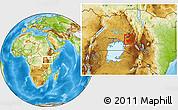 Physical Location Map of KAKAMEGA
