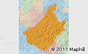 Political Map of Changang, lighten