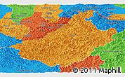 Political Panoramic Map of Changang