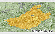 Savanna Style Panoramic Map of Changang