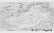 Silver Style Panoramic Map of Changang