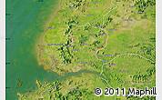 Satellite Map of Nampo