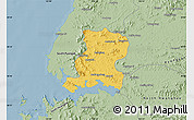 Savanna Style Map of Nampo