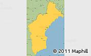 Savanna Style Simple Map of North Hamgyong